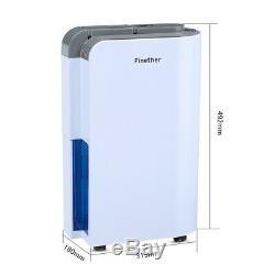 12L/D Portable LCD Dehumidifier Air Purifier Dryer Damp Mould Moisture Absorber
