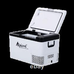 12v & 240v Compressor Fridge for Camper Van Top Loading 25L White Alpicool