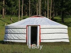16.5 ft Camping Yurt/GER/
