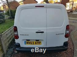2013 Partner Window Cleaning Van+brand New 2 Man Water Fed Pole System