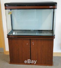 250L Cabinet Aquarium Fish Tank Tropical / Marine 107cm 3.4ft with LED Lighting