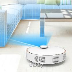 360 S7 Robotic Vacuum Cleaner Laser Navigation 2KPa Map Memory Sweeping LDS Mop