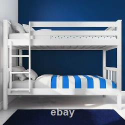 3ft Double Bed Bunk Bed Frame Kids Children Sleeper Single Bed frame With Stairs