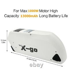 48V 13Ah TIGER SHARK Lithium Li-ion Battery for Electric Bicycles E-Bike 1000W