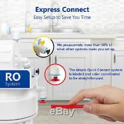 5 Stage Home Drinking Reverse Osmosis System PLUS Extra 7 Express Water Filters