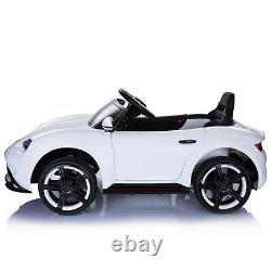 6V Kids Ride On Car Electric Powered Sport Car LED Headlight Remote White
