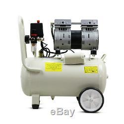 Air Compressor 24L SUPER Silent Portable Oil Free 1HP 100PSI 7BAR 230v HYUNDAI
