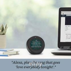 Amazon Echo Spot Alexa Black BRAND NEW IN STOCK FREE USA SHIPPING