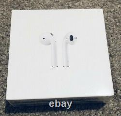 Apple AirPods 2nd Generation with Charging Case White Brand New Sealed