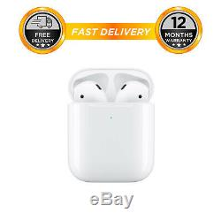 Apple AirPods with Wired Charging Case 2nd Gen White