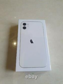 Apple iPhone 11 64GB White (Unlocked)A2221 (CDMA + GSM) Brand New Sealed