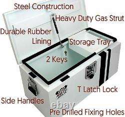 Autojack Van Vault Steel Tool Security Chest Site Storage Safe with 2 Keys