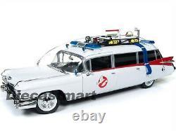 Autoworld Awss118 118 1959 Cadillac Eldorado Ecto-1 Ghostbuster Movie New Model