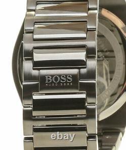 BRAND NEW Hugo Boss Supernova Chronograph Gun Metal Mens Watch HB 1513361