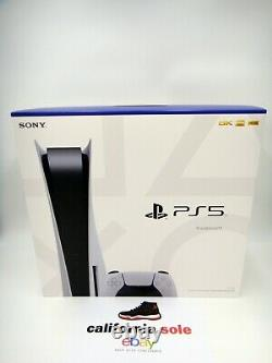 BRAND NEW Sony PlayStation 5 Disc Console White PS5 PS FACTORY SEALED