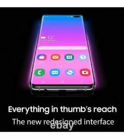 Brand NEW Samsung Galaxy S10+ Plus SM-G9750 128GB Dual Sim Unlocked Smartphone
