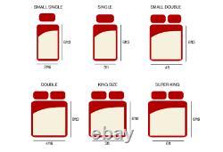 Brand New Bedzonline Pocket Sprung 2500 Unit Medium Firmness Mattress Clearance