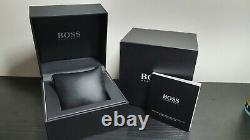 Brand New Genuine Hugo Boss Hb1512960 Ikon Two Tone Gold And Silver Mens Watch