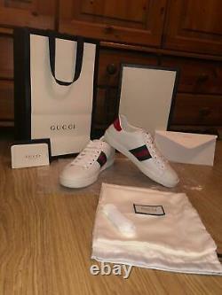 Brand New Gucci Ace Size 4 Women
