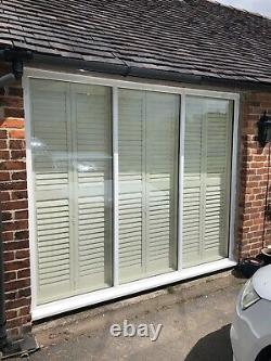 Brand New Made In England White Plantation Shutters Derbyshire Nottinghamshire