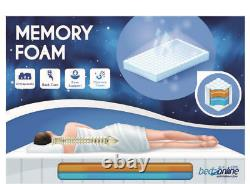 Brand New Orthopedic Memory All Foam Mattress Small Double 4ft Reflex 120x190 CM