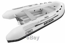 Brand New! Quicksilver Alu RIB 320 PVC Tubes White, Aluminium Hull Tender Boat