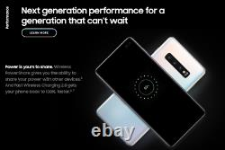 Brand New Samsung Galaxy S10 SM-G9730 Dual Sim Unlocked Smartphone 128GB Mobile