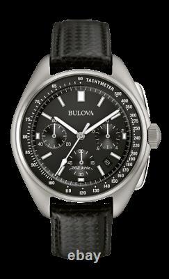 Bulova Speical Edition Lunar Pilot Chronograph Black Dial Men's Watch 96B251