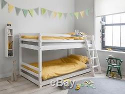Cabin Bed Midsleer Bunk Bed Hilda in White Kids Bed Childrens Bunk