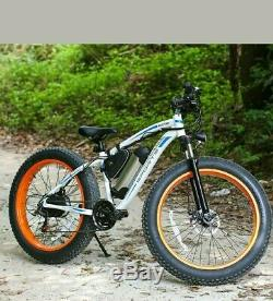 Chief X250 with 26 Fat Tyre Electric off-road style e-bike BIG BRAND QUALITY