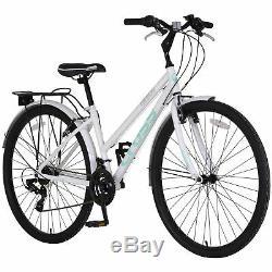 Cross Freeway 700c Hybrid Bike Ladies White