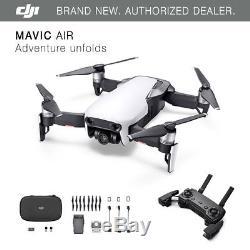DJI Mavic Air Arctic White Drone 4K Camera, 32MP Sphere Panoramas