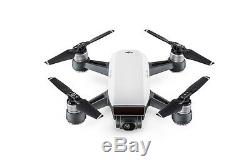 DJI Spark Drone Quadcopter Remote Plus Extra Battery Bundle in White