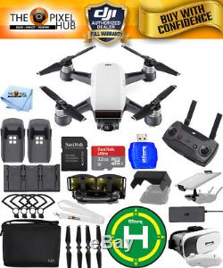 DJI Spark Fly More Combo (Alpine White)! EXTREME ACCESSORY BUNDLE BRAND NEW