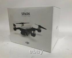 DJI Spark Fly More Combo Drone CP. PT. 000899 in Alpine White BRAND NEW SEALED BOX