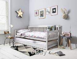 Day Bed Single Bed Isabella with Pull out Trundle in Choice of Colours