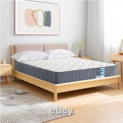 Double Bed Mattress 4ft6 Pocket Sprung Orthopaedic Mattress Medium Firm Grey