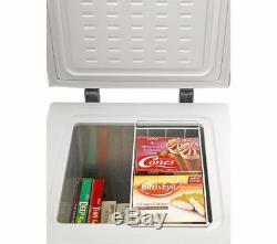 ESSENTIALS C61CF13 Chest Freezer White Currys