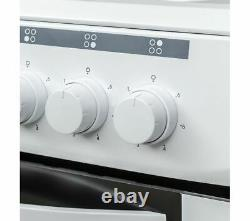 ESSENTIALS CFSEWH18 50 cm Electric Solid Plate Cooker White Currys