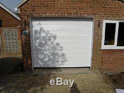 Electric Remote Control Roller Shutter Garage Door MADE TO MEASURE with Fixings