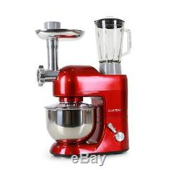 Electric Stand Mixer Kitchen Machine Food Processor Pasta Maker Meat Grinder Red