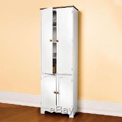 Free PP Kitchen Larder Cupboard/Pantry Cupboard/Pantry Cabinet/Linen Cabinet 004
