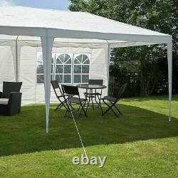 Gazebo Marquee Party Tent With Sides Waterproof Garden Patio Outdoor Canopy 3x6m