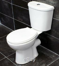 Griselle Modern Basin Sink + Close Coupled Toilet Set Bathroom Suite Ensuite