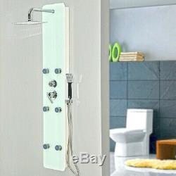 HOME DELUXE Duschpaneel Duschset Regendusche Duscharmatur Dusche Tropenbrause
