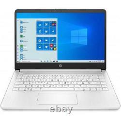 HP 14 Series 14 Touchscreen Laptop AMD 3020e 4GB RAM 64GB eMMc Snowflake White