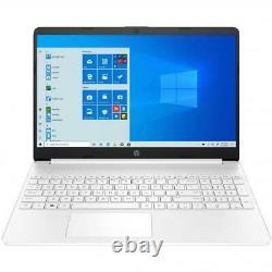 HP 15 Series 15 Laptop Intel Core i3 4GB RAM 256GB SSD White + Microsoft 365