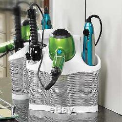 Hair Dryer Holder Rack Barber Salon Styling Storage Straighteners Organizer Gift
