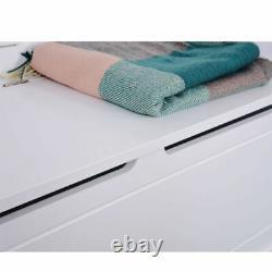Hallway Wardrobe Coat Rack Storage Unit Bench Entryway Hooks Cabinet Furniture