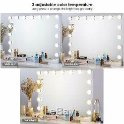 Hollywood Vanity Mirror Makeup Cosmetic Bathroom Mirror with LED Dimmable Lights